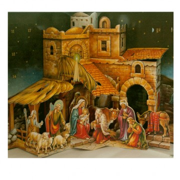 Nativity Advent Calendat Book