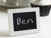 Vintage Style Place Card