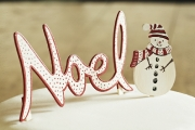 Christmas Cake Decoration Noel