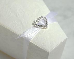 Small Heart Diamante Buckle