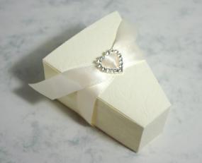 Medium Heart Diamante Buckle