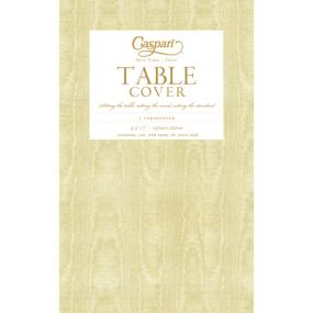 Gold Paper Tablecloth by Caspari