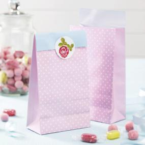Vintage Rose Party Bags
