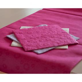 Hot Pink Moments Paper Table Runner