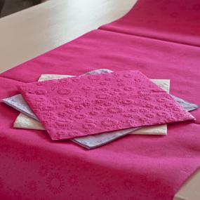 Hot Pink Moments Paper Dinner Napkins