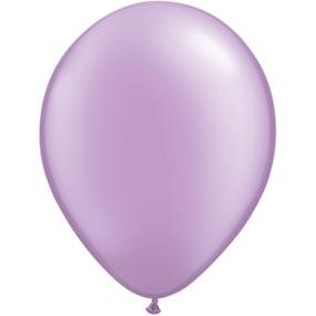 Pearl Lilac Latex Balloons x 6