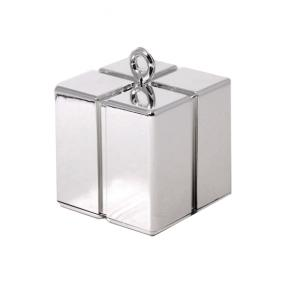 Silver Balloon Weight - Gift Box