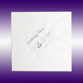 Naming Day Napkins - Luncheon Size