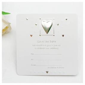 Save The Date Cards - Hearts