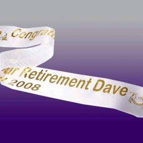 Personalised Retirement Banner
