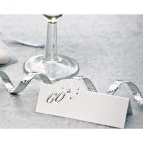 60th Birthday Place Cards