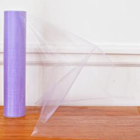 Lilac Organza Roll - Snow Sheer