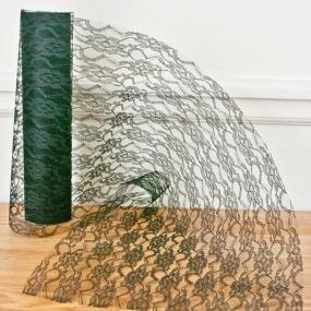 Black Lace Net On A Roll 29cm x 10m