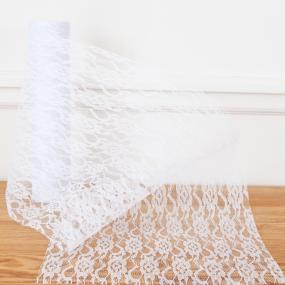 White Lace Net On A Roll 29cm x 10m
