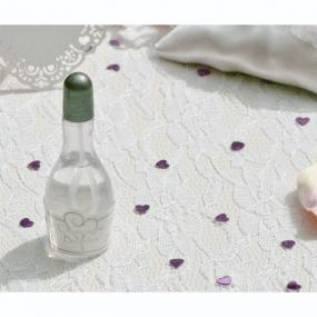 White and Silver Heart Bubbles - Party Bubbles
