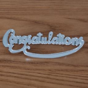 Congratulations Motto - Cake Decoration
