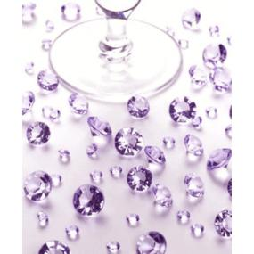 Lilac Table Crystals