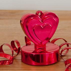 Red Heart Balloon Weight