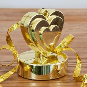 Gold Heart Balloon Weight