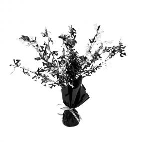 21st Birthday Centrepiece Black and Silver