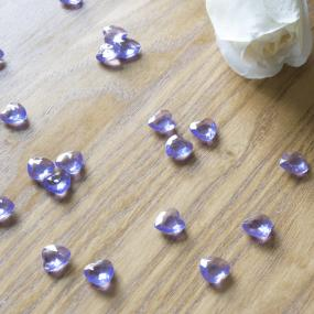 Lilac Heart Diamantes x 75