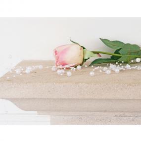 White Pearl Garland - 2 metre