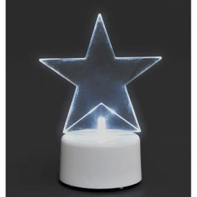 Battery Operated Lit Star - Table Decoration