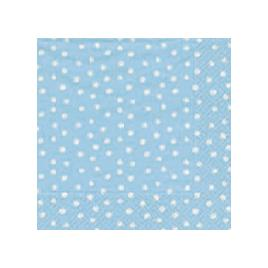 Blue Little Dots Paper Napkins - Luncheon Size by Caspari