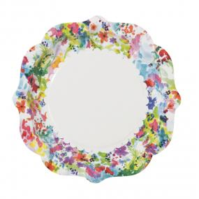 Floral Fiesta Paper Plates