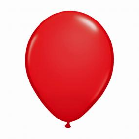Red Latex Balloons x 6