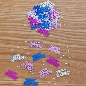 Pink Happy Birthday Table Confetti