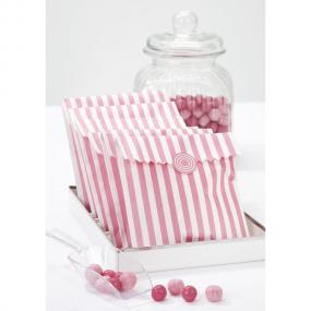 Pink Treat Bags x 10