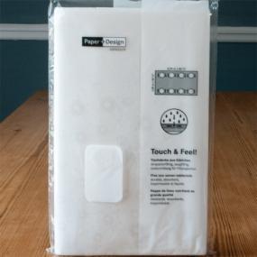 White Paper Tablecloth - Moments Uni