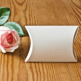Pillow Favour Box Pearl White