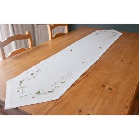 Holly Design Christmas Table Runner - Circolo