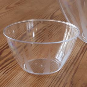 Clear Snack Bowl