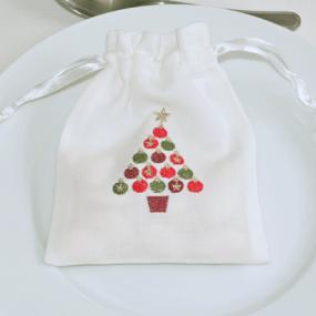 Christmas Tree Gift  Bag By Peggy Wilkins - Merry Christmas Design