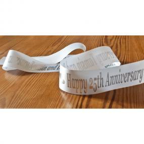 Personalised Wedding Anniversary Cake Ribbon