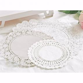 Silver Party Porcelain Doilies