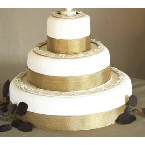 Wedding Cake Decoration Set of Rings x 3