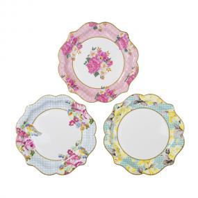 Truly Scrumptious Pretty Paper Plates - Medium