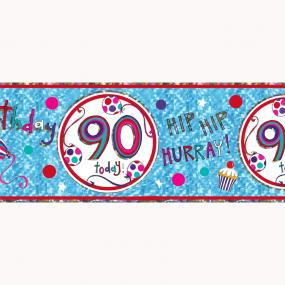 90th Birthday Banner - Rachel Ellen Designs
