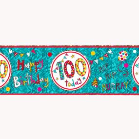 100th Birthday Banner - Rachel Ellen Designs