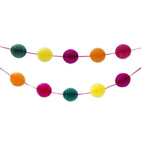 Bright Honeycomb Garland