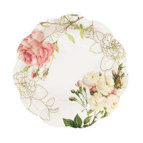 Blossom & Brogues Paper Tea Plates
