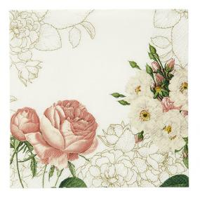 Blossom and Brogues Paper Napkins