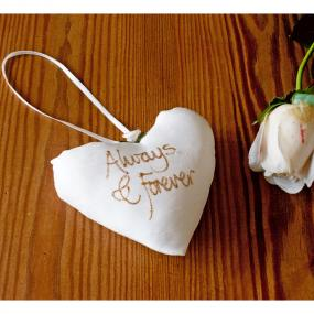 Always and Forever Bridal Heart by Adornment