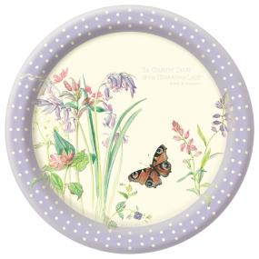 Edwardian Lady Lilac Paper Plates
