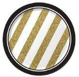 Gold, Black and White Paper Side Plates
