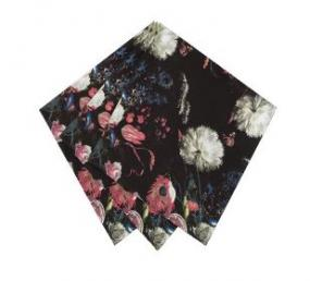 Party Porcelain Baroque Style Luncheon Napkins